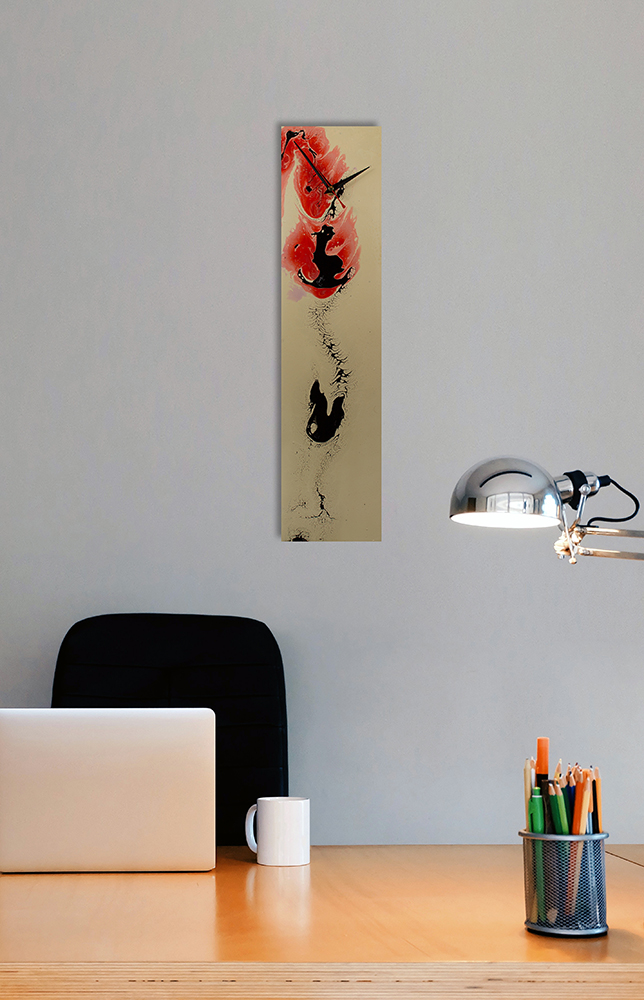 Japanese Style Wall Clock - Click for more