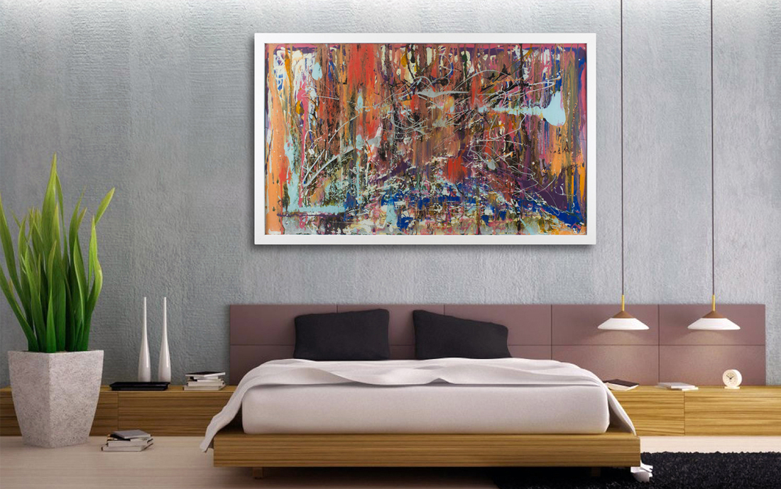 Extra Large Glass Wall Art