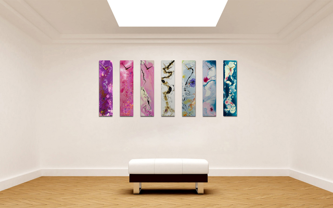 Abstract Wall Clocks