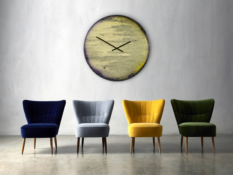 Extra Large Contemporary Clock in situ