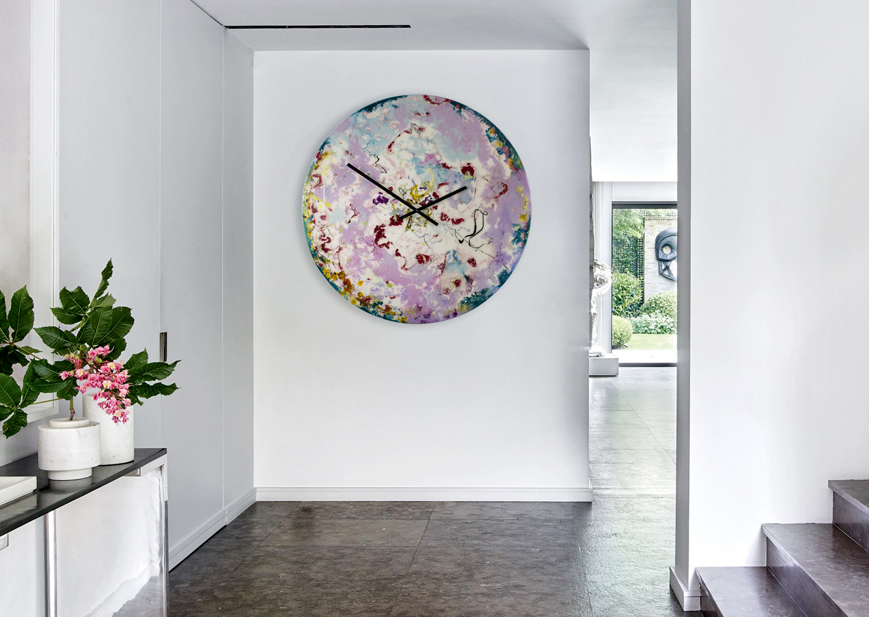 Big Kitchen Wall Clocks Extra Large Kitchen Clock With Ambient Lighting Shop Now