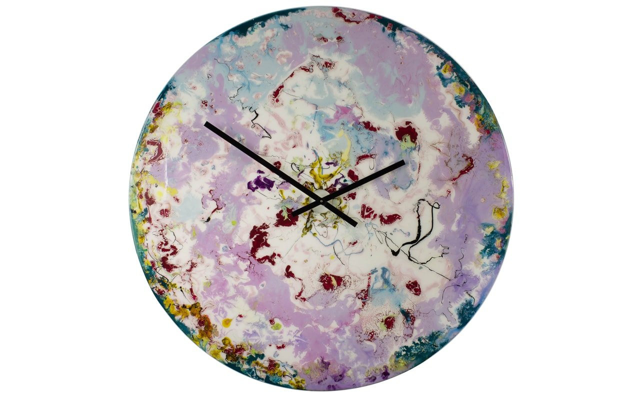 Large Modern Kitchen Wall Clocks: Extra Large Modern Wall Clocks With Backlighting