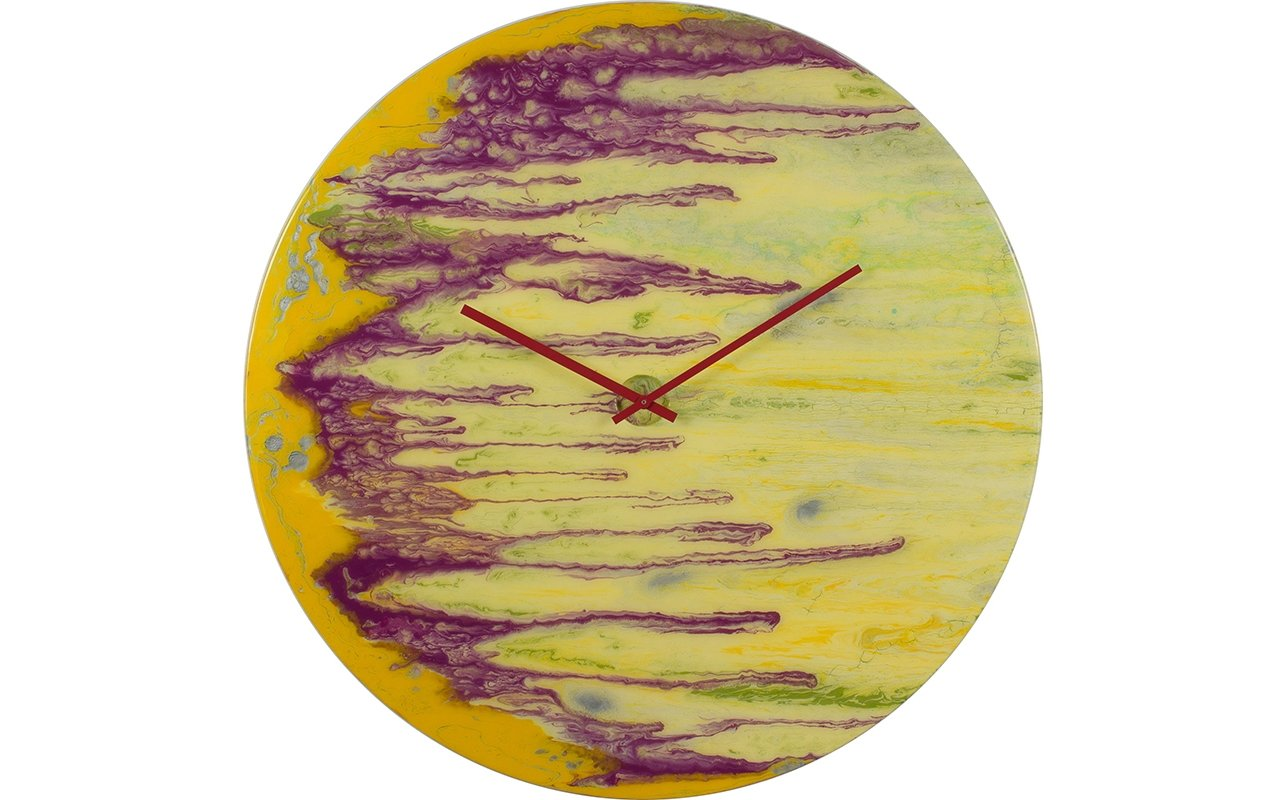 Large Funky Wall Clock
