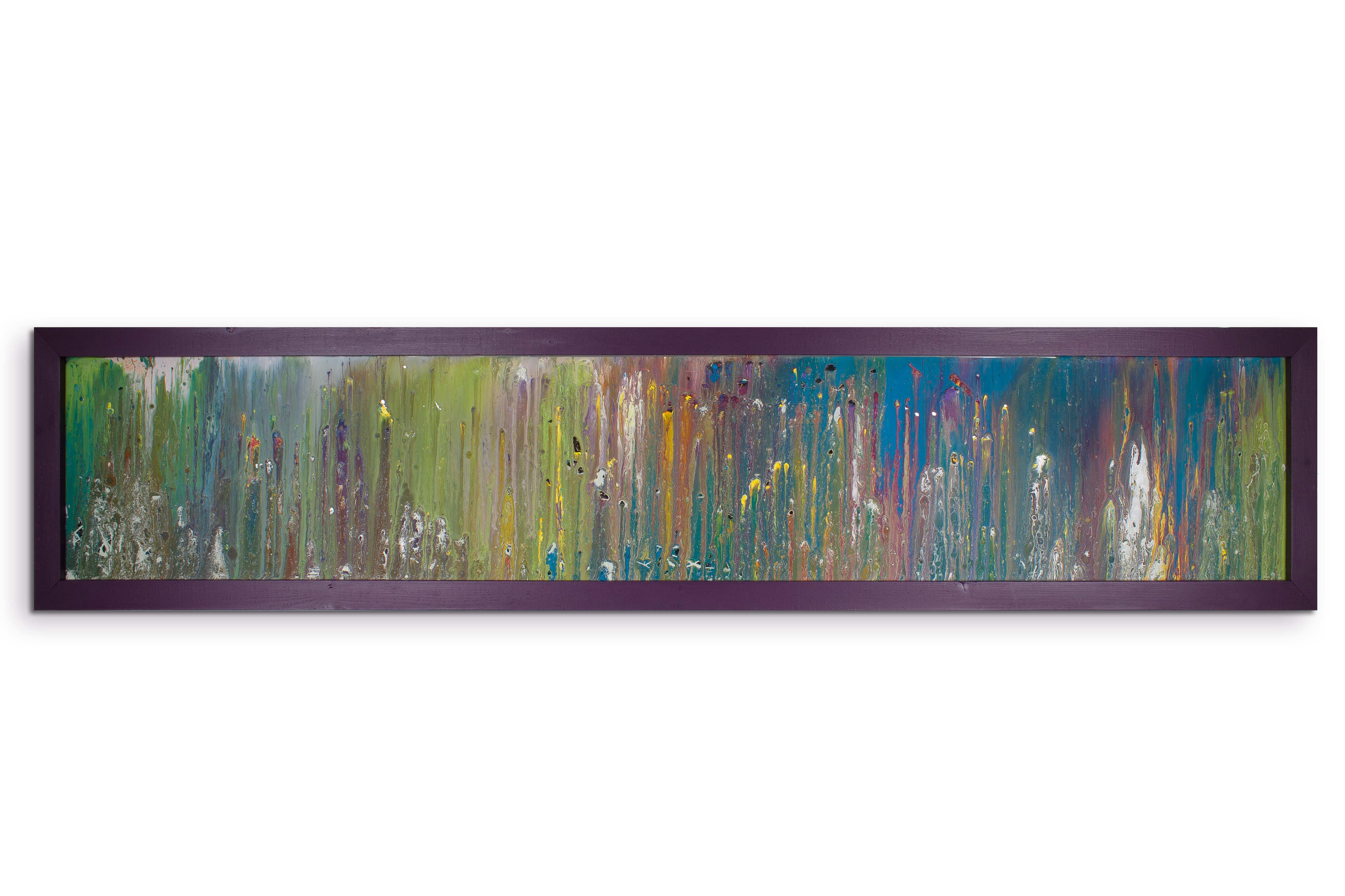 Horizontal wall art modern art painting